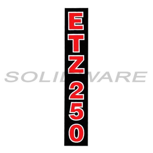 Aufkleber Etz250 Schriftzug Schmal Telegabel Für Mz