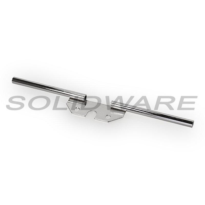 Blinkerträger vorn schwarz 10mm passend für Simson S50 S51 S70 MZ ETZ